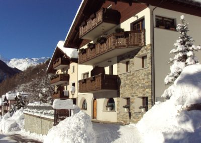 Residence Campodolcino inverno